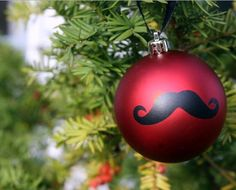 Movember Mustache Ornament | We mustache you a question: Do you like DIY ornaments like this one?