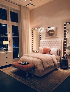 Small room bedroom - 59 the biggest myth about simple bedroom ideas for small rooms apartments layout exposed 28 Girl Bedroom Designs, Room Ideas Bedroom, Small Room Bedroom, Home Bedroom, Bedroom Inspo, Girls Bedroom, Bedroom Inspiration, Bedroom Apartment, Bedroom Decor Glam