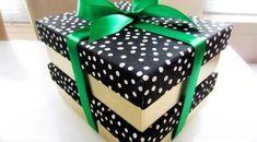 Com uma ideia simples para aproveitar caixas de sapato você deixa o seu presente mais charmoso ou a