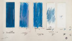Cy Twombly, Untitled, 1970, from the Menil Collection,...