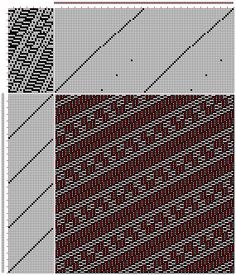 Figure 735, A Handbook of Weaves by G. H. Oelsner, 51S, 27T