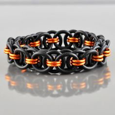 Halloween Holiday Chainmaille DIY Jewelry Tutorials Kits | Blue Buddha Boutique