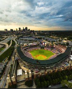 the Atlanta Braves will be leaving Turner Field for a stadium in suburban Cobb County! http://www.blueskyatlanta.com