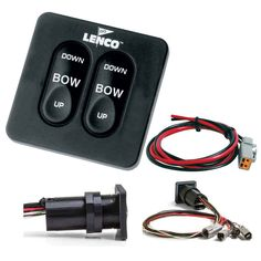 "Lenco Standard Integrated Tactile Switch Kit w/Pigtail f/Dual Actuator Systems $157.99"" #lenco #darkhorsemarine"