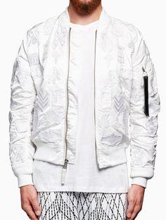 Alpha MA-1 jacket from S/S2016 Marcelo Burlon County of Milan
