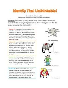 """Identify That Unthinkable"" handout"