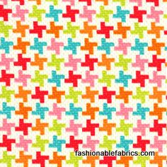 Fabric... Vintage Houndstooth by Michael Miller Fabrics