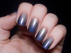 Chalkboard Nails: gradient