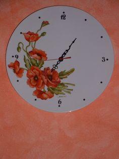 Sveglia con papaveri - Poppies clock