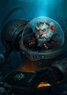 Gnome Treasure Hunter by ExoMemory on DeviantArt