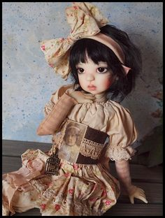 LE Outfit Set By Kim Arnold - The Trinket Box Fits Kaye Wiggs Msd or Other Msd #DollswithClothingAccessories