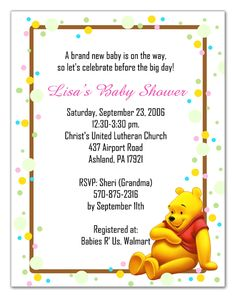 Winnie the pooh baby shower invitations 2 styles by photo18 1599 baby shower pooh bear baby shower invitations to make your attractive baby filmwisefo