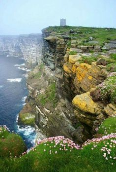 Orkney Islands, Scotland  Orkney is an archipelago off the northeastern coast of Scotland. The islands encompass Neolithic sites, tall sandstone cliffs and seal colonies. The 'Heart of Neolithic Orkney' is a group of 5,000-year-old sites on Mainland, the largest island including Skara Brae, a preserved village with a reconstructed house, and Maeshowe, a chambered burial tomb incorporating 12th-century Viking carvings.
