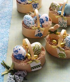 Идеи для украшения пасхальных яиц