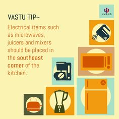 The Kitchen is an extremely important part of the vastu, where in the healthy food for the family is Cooked. Here's what you need to keep in mind :) Feng Shui And Vastu, Feng Shui Tips, Yin Yang, Kitchen Vastu, Fen Shui, Puja Room, Vastu Shastra, Indian Homes, Vedic Mantras