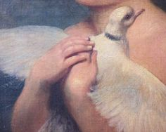 Jean Baptiste Greuze,Girl with the Dove(Detail).