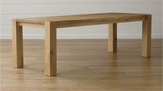"Big Sur Natural 90.5"" Dining Table $1799"