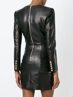 Balmain Draped Dress - Luisa World - Farfetch.com