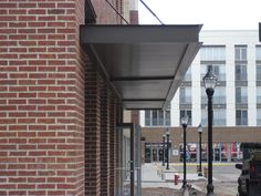 MASA Extrudeck canopy at 601 Avalon Drive in Wood-Ridge, NJ. #architecture #design #metal #manufacturing #Americanmade