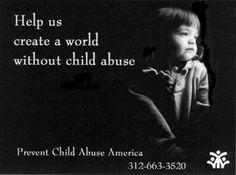 No excuse for child abuse.