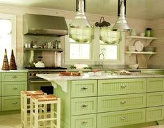 Nice kitchen via Carol's Country Sunshine on Facebook