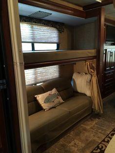 Elegant Travel Trailer Bunk Bed Rails