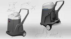 Sketches, Nilfisk, Vacuum Cleaner