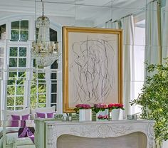 Beautiful Interiors and 18th Century Style