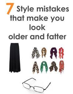 7 Style mistakes that make you look older and fatter - bBeautyTips.com
