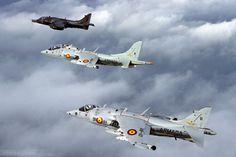 BAe/McDonnell Douglas AV-8A Harrier, Armada Española.