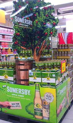 "Somersby ""Made from real apples"" block stack 