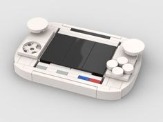 Time To Play - Lego Consoles – How to build it Nintendo Ds, Super Nintendo, Nintendo Games, Nintendo Consoles, Playstation Portable, Xbox One S, Sega Genesis, Lego Ideas, Entertainment System