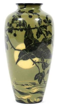 ARTHUR CONANT FOR ROOKWOOD POTTERY VASE 1921