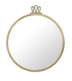 Randaccio spegel rund Ø60 - Gubi - Dennys Home