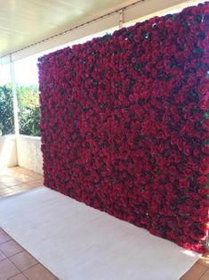 Backyard Wedding Discover Silk Floral Backdrop for Wedding Photography Red Rose Artificial Flowers for Home Decor or Birthday Party Decoration Panel Flower Wall Wedding, Red Rose Wedding, Burgundy Wedding, Fall Wedding, Burgundy Bridesmaid, Maroon Wedding, Bouquet Wedding, Crimson Wedding Ideas, Dream Wedding