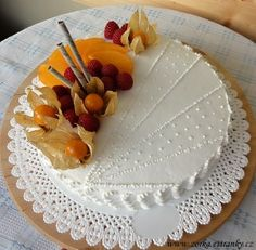 Dorty, řezy, dobroty - Recepty - Moje dorty Camembert Cheese, Dairy, Food, Cakes, Pastries, Photograph Album, Cake Makers, Essen, Kuchen