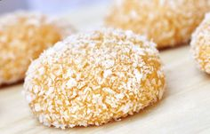 Lemon Coconut Cookies – Anja's Food 4 Thought