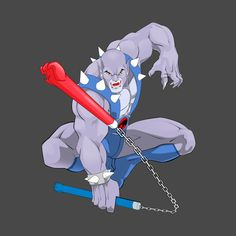 Check out this awesome Panthro' design on Thundercats Characters, Thundercats Cartoon, He Man Thundercats, Thundercats 2011, Best 80s Cartoons, Classic Cartoons, Baby Marvel, Nostalgia Art, Logo Character