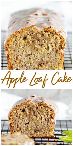 A good oldfashioned apple loaf, this cake is super moist and very easy to make (no peeling the apples!) You& love the flavor and simplicity of this recipe apple loaf cake walnuts oliveoil is part - Apple Loaf Cake, Apple Bread, Apple Cake Recipes, Easy Cake Recipes, Baking Recipes, Dessert Recipes, Easy Apple Cake, Apple Recipes Easy, Loaf Recipes