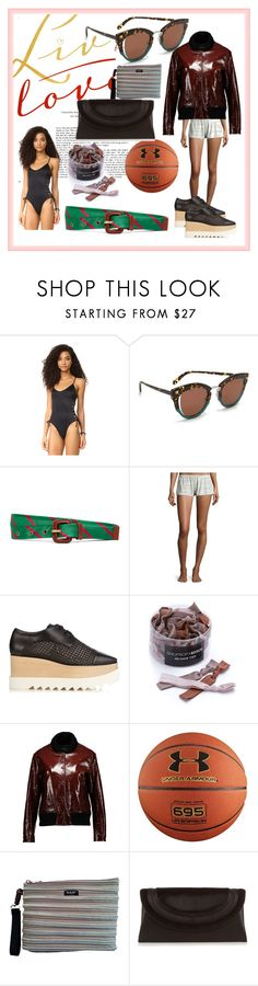 """""""fashion for women's"""" by denisee-denisee ❤ liked on Polyvore featuring Peixoto, Salvatore Ferragamo, Brooks Brothers, Eberjey, STELLA McCARTNEY, Kitsch, rag & bone, Under Armour, BAM BAGS and Diane Von Furstenberg"""