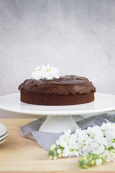 Best Ever Gluten Free Vegan Chocolate Cake with Ganache