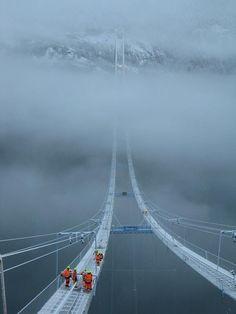 Norway Sky Bridge | Places to Visit ..  [.click thru.]