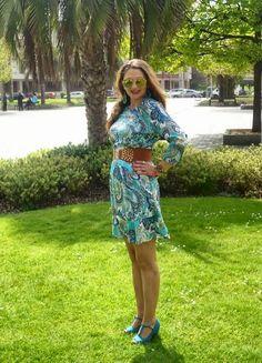 UN VESTIDO PARA MÍ♥                                       by bea       : print cashmere dress