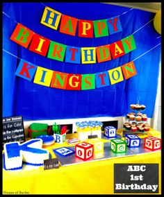 ABC 1st Birthday (Part 1) - House of Burke