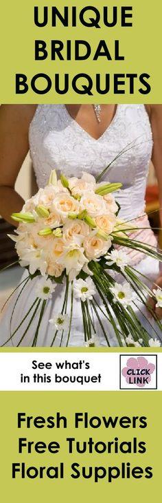 1000 Images About Unique Bridal Bouquet Design On Pinterest Bridal Bouquets Florist Supplies
