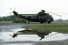 """A Sikorsky Sea King helicopter in Royal Malaysian Air Force (RMAF) service. RMAF calls it """"Nuri"""", named after the bird, parrot.  Photo credit: nosint.blogspot.com"""
