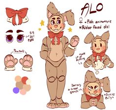 Alo (reference sheet) by Aloverii on DeviantArt Fnaf Oc, Anime Fnaf, Fnaf Drawings, Cute Drawings, Funny Grumpy Cat Memes, Fnaf Wallpapers, Furry Oc, Robots Characters, Drawing Reference