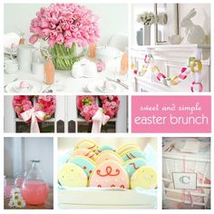 happy easter everyone!! a sweet easter brunch idea <3