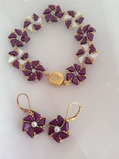 Debbie Blamy has finally realized the magnitude of her talent and started to design patterns. She has many years as a beading teacher and exhibits patience, detail and accuracy in everything she makes.This pattern is elegant and magical. You are certain to receive compliments on the bracelet. It can be made with a variety of combination of colors and the limits are unimaginable. Her directions are precise, symmetrical and flawless PM DEBBIE BLAMEY ON FB FOR DETAILS