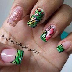 Extenciones de uñas en gel acrigel o acrilico #nails